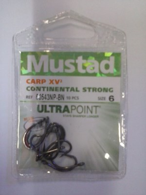 mustad continental strong