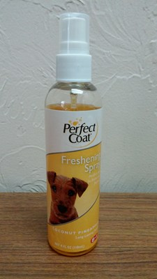 perfect coat freshening spray ריח קוקוס