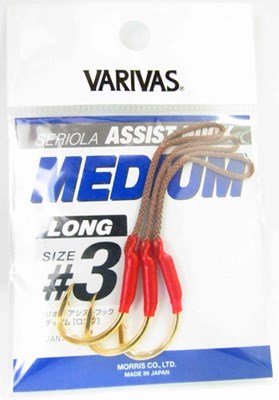 VARIVAS - ASSIST HOOK MEDIUM LONG SERIOLA