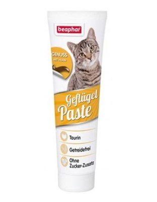 Beaphar Poultry Paste with Chicken Cat Treats 100g