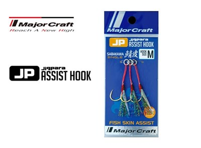 major craft jigpara assist hook sabakawa single